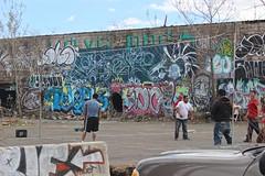 Twerk, Oc, Grope, Grim (NJphotograffer) Tags: new building abandoned graffiti grim nj jersey dna graff oc mhs shortys grope twerk