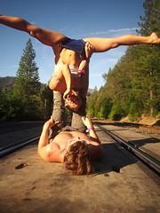 P7030669 (arbitragery) Tags: pretty priceless traintracks acrobatics acro acroyoga priceless2015