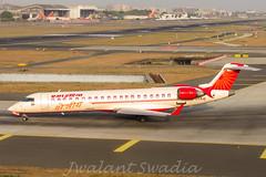 Air India Regional (Jwalant Swadia) Tags: bombardier crj crj700 dawn mumbai airport airindia regional airindiaregional
