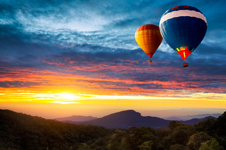 Hot-air balloons
