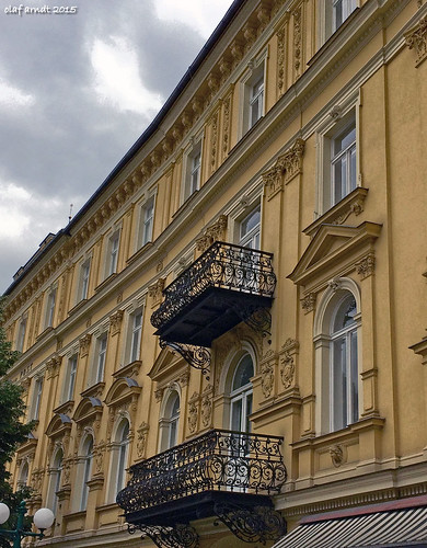 Fassade in Bad Ischl / Austria