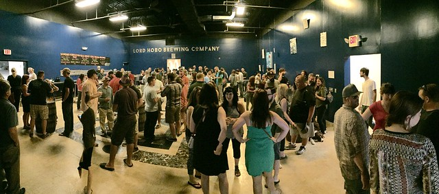 Lord Hobo Brewing Company Grand Opening