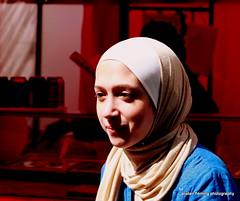 014-IMG_6651 (marinbiker 1961) Tags: girls woman women glasgow hijab headband 2015 merchantcityfestival