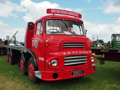 Leyland Octopus - 2961 R (Ben Matthews1992) Tags: road old england classic truck vintage wagon flat cheshire britain rally great transport historic steam lorry commercial octopus vehicle british preserved 1962 services preservation leyland flatbed waggon brs haulage 2015 8wheel kelsall 8wheeler 2961r 5e590