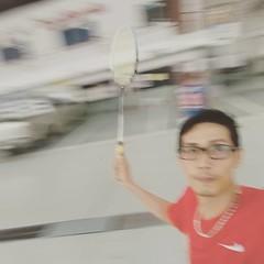#แบดมินตัน #badminton ฮ่าๆๆๆ...😘