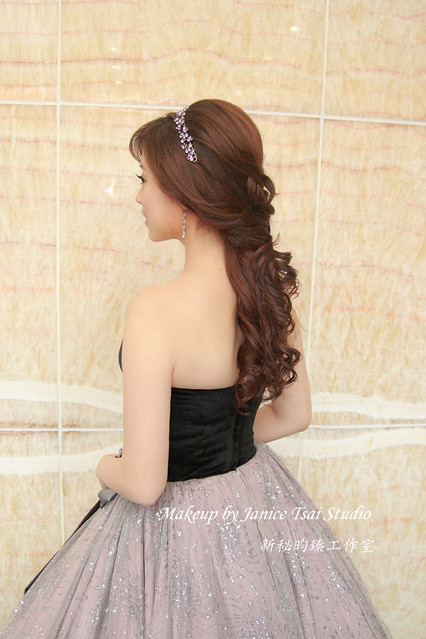 【新秘昀臻造型/Bride~YvonneSophia♥徐州路2號♥訂婚】