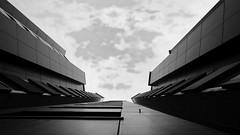 urban blues (ELECTROLITE photography) Tags: skyview sky view skyscraper hochhaus architektur architecture blackandwhite blackwhite bw black white sw schwarzweiss schwarz weiss monochrome einfarbig noiretblanc noirblanc noir blanc electrolitephotography electrolite roko robertkochwohnheim urban blues urbanblues