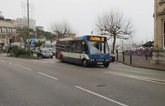 47105, Strand, Torquay, 21/12/16 (aecregent) Tags: strand torquay 211216 stagecoachsouthwest optare solo 47105 wa04txw 32
