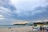 Rain approaching Bondi (jeremyhughes) Tags: outdoor landscape shore sky seaside cloud australia bondi beach bondibeach rain weather cloudy storm holiday holidays nikon d750 nikkor afszoomnikkor2470mmf28ged