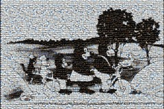 easymozaLR walt disney 1922 (TynonUser) Tags: photo collage montage mosaic art 1922 walt disney julius cat laughogram