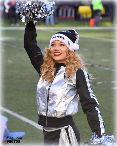 2016 Oakland Raiderette Stephanie