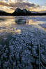Bubbly (Len Langevin) Tags: ice frozen abrahamlake rocky mountains alberta rockies sunrise landscape nature clouds reflection canada nikon d300s tokina 1116