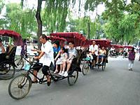 北京市内半日観光(三輪車での胡同めぐり)(旧市街散策のオプショナルツアー)