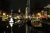 Winterwelvaart lights, Groningen (Richard Leese) Tags: netherlands frisia frisian travel holland urban boat boats light night dark christmas festival travelling ships ship