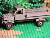 Opel Blitz - Scenery (brickdetailer) Tags: truck opel blitz lego war tree wood maple oak pine green grey gray build germany