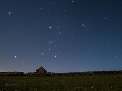Orion over Malhamdale (diamond-skies) Tags: orion betelgeuse sirius starry skies malham cove yorkshire dales astrophotography
