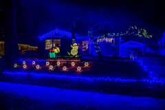 Christmas 2016--DSC04287--Pacific Grove, CA (Lance & Cromwell back from a Road Trip) Tags: pacificgrovexmas christmas christmaslights pacificgrove montereypeninsula 2016 sony sonyalpha a7ii 24240mm