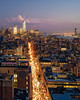 Downtown (Mike Orso) Tags: night newyork color birdseyeview print freedomtower buildings cityscape aerial worldtradecenter skyscraper sunset rooftop towerone outdoors photograph unitedstates bluehour city tower newyorkcity mikeorso architecture statueofliberty manhattan skyline scenic downtown