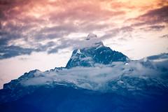 Machapuchare Peak, Annapurna Massif, Nepal (Iftakhar Hasan) Tags: nepal pokhara annapurna machapuchare machhapuchchhre machhapuchhre himalayas mountain peak cloud dawn sunrise canon canoneos7d canonefs18135mmf3556is sarangkot