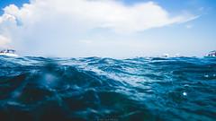 Wavy mountain (Nicola Pezzoli) Tags: favignana sicilia sicily island egadi summer sea water colors nature canon tourism wave underwater blue clouds bue marino