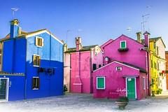 Burano (Venezia) (BlueMaury) Tags: burano venezia casecolorate colori