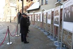 Commemoration of the Jews in Krosno, at the plaque commemorating the former Jewish ghetto_Mizroch__Mizroch_MZE_2245