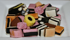2017 Licorice Allsorts (dominotic) Tags: 2017 sydney australia licoriceallsorts sweets confectionery lolly candy food