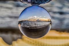 Sydney in a snow globe (Rakuli) Tags: ifttt 500px sydney harbour opera house souvenir snow globe water sunset australia golden upside down lensing bubble