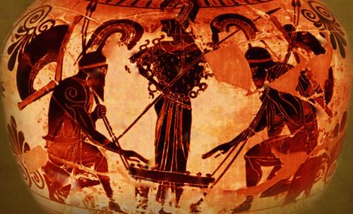 "Petteia - Ludus Latrunculorum  / Iconografía de las civilizaciones helenolatinas • <a style=""font-size:0.8em;"" href=""http://www.flickr.com/photos/30735181@N00/32481384746/"" target=""_blank"">View on Flickr</a>"