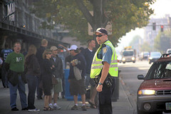 Seattle Police - Game Day (dloran01) Tags: candidcamera gameday seattlepolice safeco field seattle washington mlb trafficduty