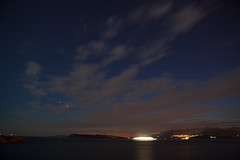 Kolocep at night (Greg Kingston) Tags: blue sea sky game beach water clouds croatia got dubrovnik thrones
