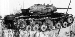 KV-1S in German service