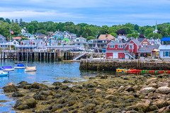 Rockport Harbor - Low Tide (IndyMcDuff (Bellifemine Studios)) Tags: boats harbor nikon holidays fishermen massachusetts newengland lowtide rockport capeann 2015 vacationers d810 indymcduff invitingimages