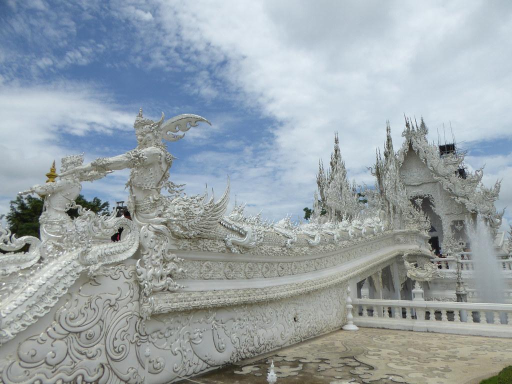 Wat Rung Khun Entrance