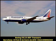 idna548-EI-DDY (ribot85) Tags: barcelona airplane airport aircraft el airlines avin aeropuerto avion aviones prat transaero eiddy