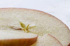 pom pom pom pommes (peu présente...ailleurs !) Tags: rouge pomme tranche fraicheur pépin