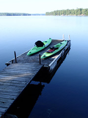 3.4 Kayak on the Dock