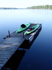 3.4 Kayak on the Dock