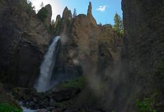 Yellowstone Canyon (MarcantoineBolduc) Tags: park camping fall nature rock swim landscape outside eau canyon national yellowstone paysage cascade extérieur chute
