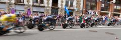Tour de France (gillouvannes56) Tags: sky france colors brittany bikes bretagne tourdefrance vannes yellowjersey vélos coureur maillotjaune contrelamontre plumelec chrisfroom againstthewatch