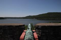 Cannon (historygradguy (jobhunting)) Tags: lake ny newyork water landscape upstate weapon cannon artillery lakechamplain fortticonderoga ticonderoga livinghistory