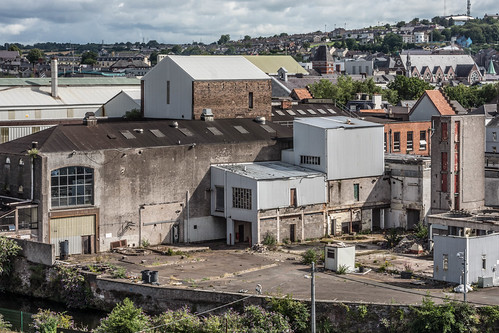 VIEWS OF THE CITY FROM THE WALLS OF ELIZABETH FORT [CORK] REF-106684