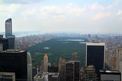 Oasis in the City (dennoit) Tags: park newyorkcity newyork building skyline skyscraper cityscape centralpark manhattan rockefellercenter rockefeller topoftherock architectcure