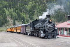 DSNG486SilvertonCO6-13-15 (railohio) Tags: colorado silverton trains narrowgauge riogrande d90 durangosilverton dsng 061315 trains75