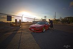 doors (aaron_boost) Tags: sunset canon nissan silvia canon5d 240sx apexi s13 sr20det s13coupe aaronboost silviafront dualn1 aaronboostgarage aaronboostphotography s13aero
