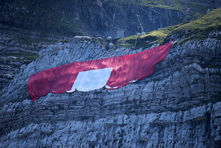 The Swiss flag is mothballed for the next year!