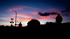 The Walk Home (ajecaldwell11) Tags: light dusk sky hawkesbay newzealand sunset napier clouds