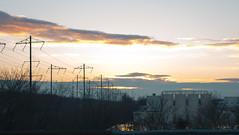 IMG_9707 (Richard Petrosino) Tags: bridge sunset pretty arial orange keasbey newjersey unitedstates blue new york jersey staten island 440 287 powerlines diagnol