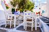 Taverna (Kevin R Thornton) Tags: chair d90 taverna nikon travel street mediterranean greece city mykonos table white mikonos egeo gr