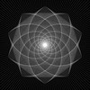 (chrisinplymouth) Tags: geometry geometric symmetry symmetrical cw69x digitalart photoshop linear polygon shape polygonal square squareformat cw69sq decahedron decahedral line drawing